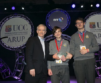 George Boole Prize Winners at BT Young Scientist Exhibition 2017