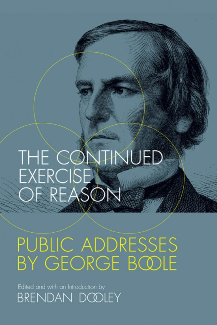 Announcing the Public Launch of New Boole Book in University College Cork (UCC, Ireland) on 1st October