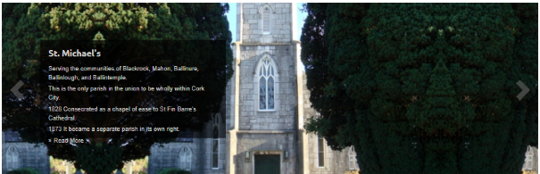 St Michael's Church where George Boole is buried