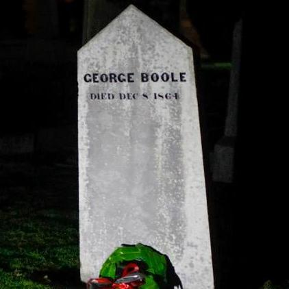 Commemorating the 150th anniversary of the death of George Boole