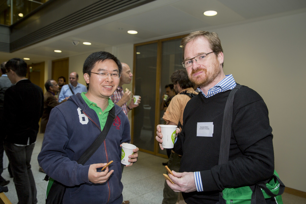 Conference attendees at the George Boole Mathematical Sciences gathering at UCC, August 2015.