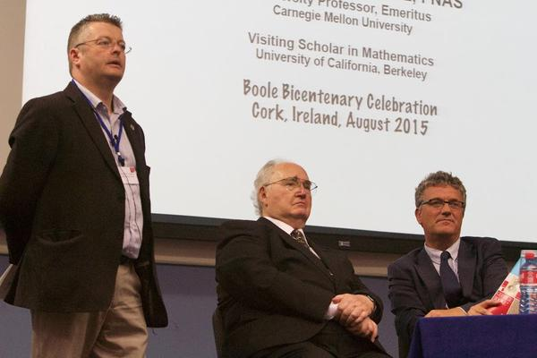 Speakers at the George Boole Bicentenary weekend, an interdisciplinary celebration of Boole's legacy.