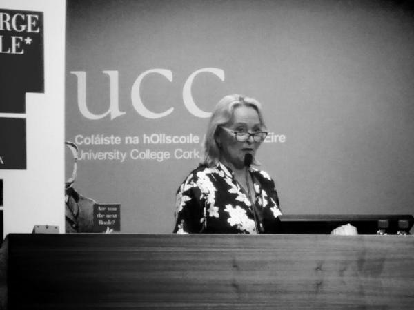 Catherine McKenna speaks about archiving and digitising The Boole Papers.