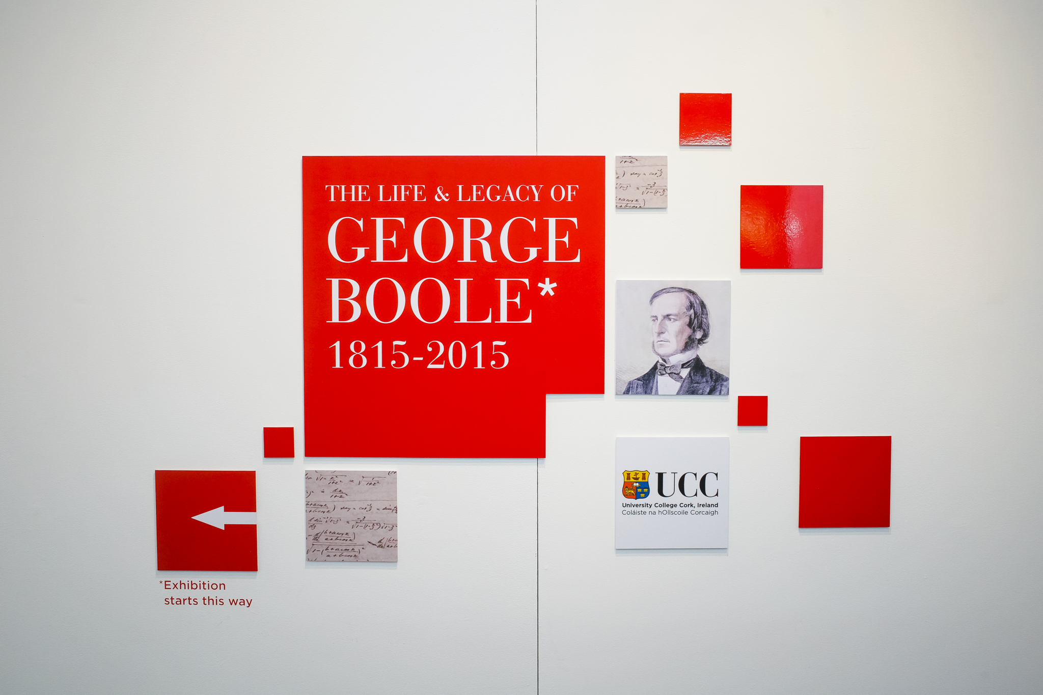 Part of the George Boole 200 programme of events across University College Cork in honour of the Boole Bicentennial in 2015.