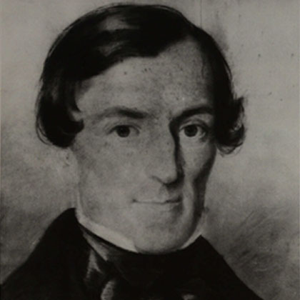 Portrait of George Boole as a Young Man