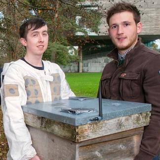 Photo L-R Liam O'Leary and Killian Troy Image: Provision