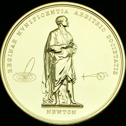 A modern day Royal Society Medal (©The Royal Society)